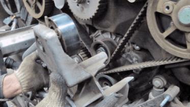 Замена ремня ГРМ на моторе 2.5 TDI (турбодизель)