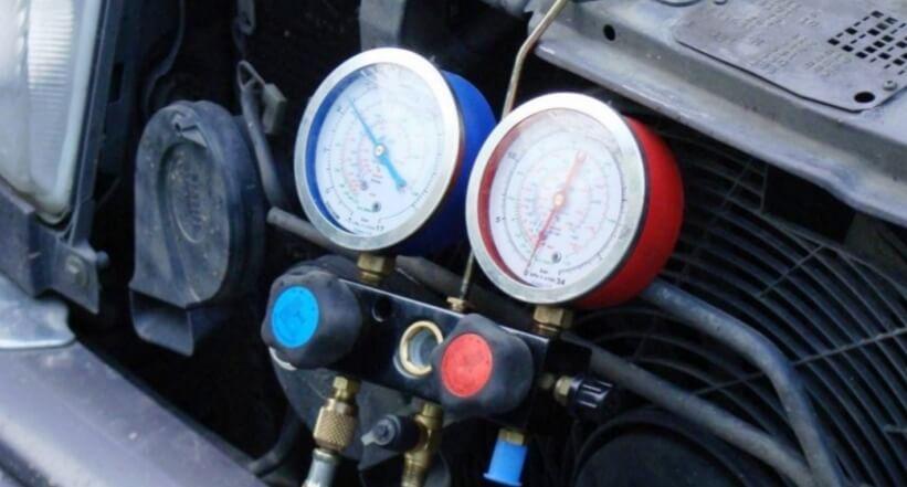 Проверка системы кондиционирования автомобиля