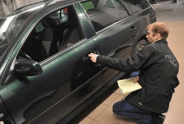 Проверка кузова подержанного авто перед покупкой