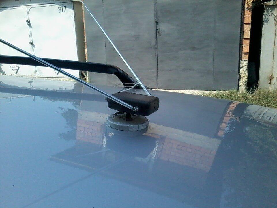 Автомобильная антенна своими руками