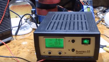 Десульфатация аккумулятора зарядным устройством