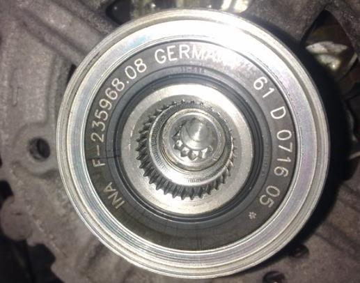 Принцип работы обгонной муфты генератора