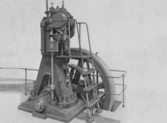Модель двигателя с увеличенным давлением в цилиндрах
