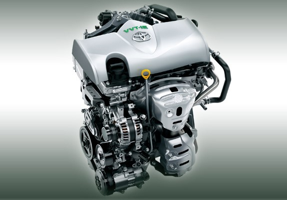 Двигатель Аткинсона на автомобилях Тойота
