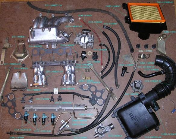 Замена карбюратора на инжектор на автомобилях ВАЗ